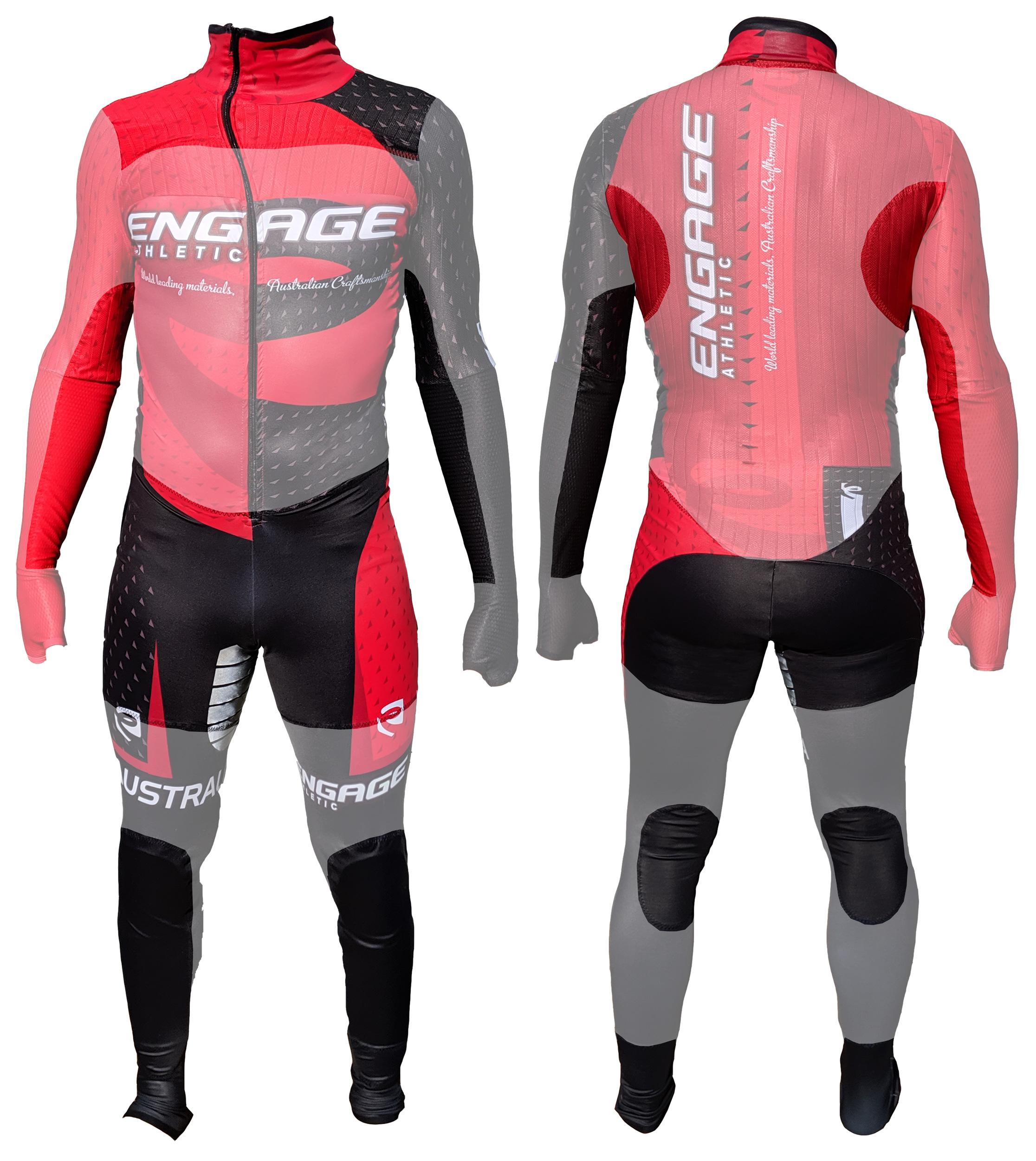 Performance Aero Short Track Dyneema Level 3 EN388 Semi Cut Resistant Suit