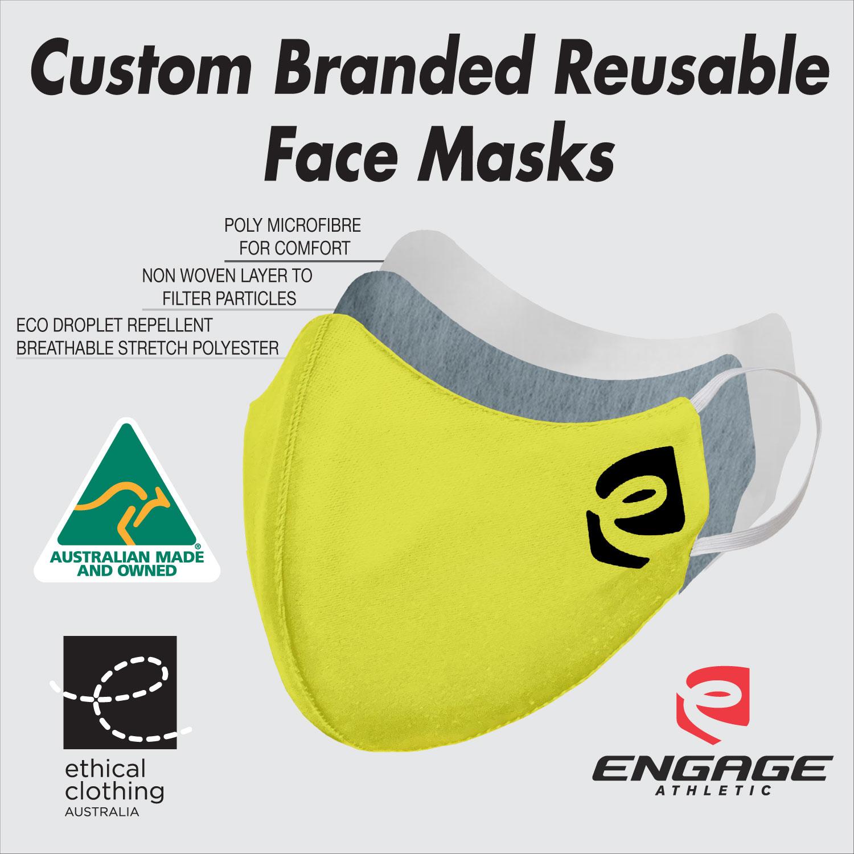 Custom Face Mask Details Hivis